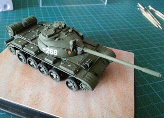 Marios T-55 AM in 1/72 von REVELL -noch nicht ganz fahrtauglich ;)