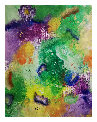 Acryl auf Papier, 56 x 42 cm