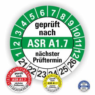 ASR A1.7 kraftbetätigte Tore und Türen