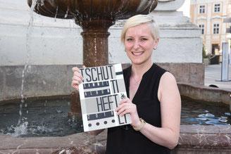Tschutti Heftli, Katharina Kainz, Katha Kainz, Rathausplatz