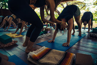 Yoga im Dschungel in Costa Rica