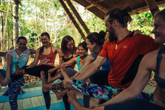 Yoga on Board in Costa Rica