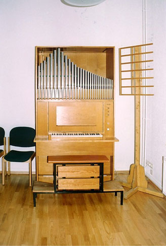 Fahlberg-Positiv, Opus 37, Neuer Gemeindesaal