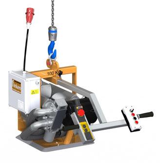 Finken Vakuumheber VSPH 1-100 für den horizontalen Transport von porösen Platten