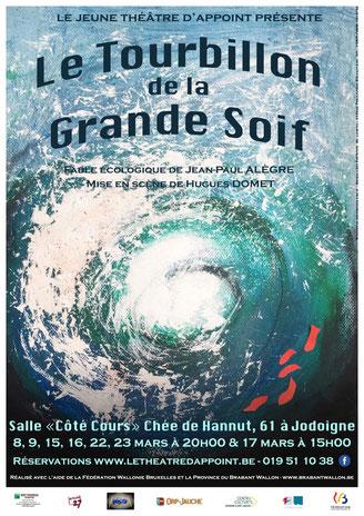 Le Tourbillon de la Grande Soif, Jeune Théâtre d'Appoint, JDA, Jodoigne, mars 2019