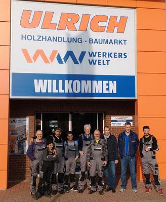 Firma Ulrich spendet Arbeitshosen, vielen Dank!