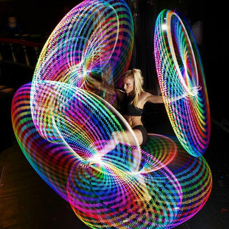 Satya Hoop Hula Hoops Performances and Workshops