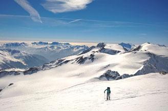 Skihochtouren, Skidurchquerungen, Skitouren