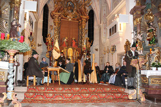 Adventssingen in St. Laurentius in Egern und...