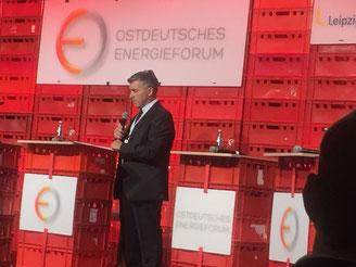 Dr. Greiff bei der Eröffnung  (Foto: H. Böschow)
