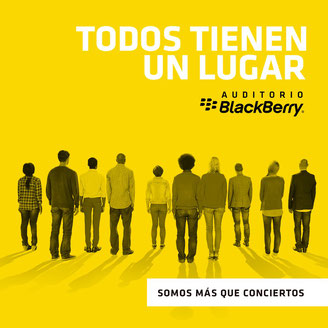 auditorio black berry condesa