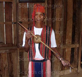 Cithare kani. Oy. Laos.