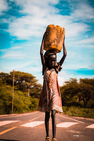 Waisenkinder in mosambik