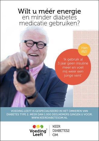 Flyer Voeding Leeft | Keer Diabetes 2 Om 2018