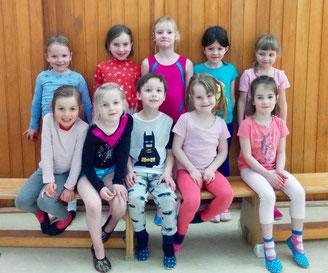 Kinderturnen für 5 bis 7 Jahre