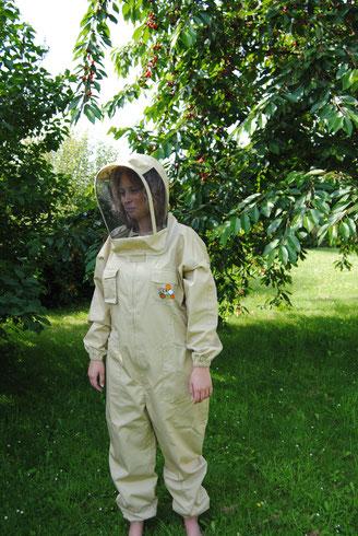 Combinaison salopette abeille protection