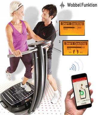 Vibrationstraining Galileo, Vibrationsplatte, gebraucht, kaufen, Vibrationstrainer, Preise, Test: www.kaiserpower.com