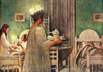"""""""Lucia"""" von Carl Larsson (1853-1919)"""
