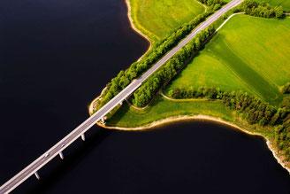 Luftbildaufnahmen, Gyrocopter, Oberpfalz
