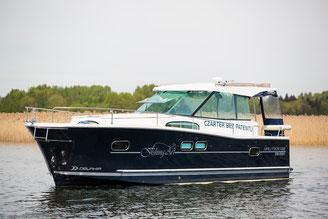 Hausboot NAUTIKA 1000 PLUS| 6+2 Kojen, 3 Schlafkabinen | ohne Führerschein