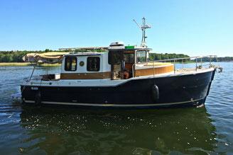 Hausboot SUNCAMPER 30 PLUS| 4+2 Kojen, 2 Schlafkabinen | ohne Führerschein