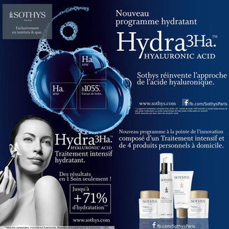 traitement intensif hydra3Ha Sothys