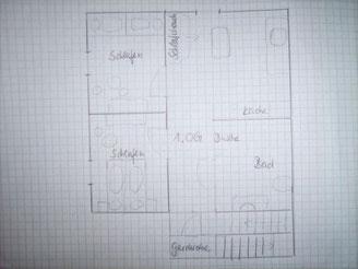 Lageplan 1. Obergeschoss