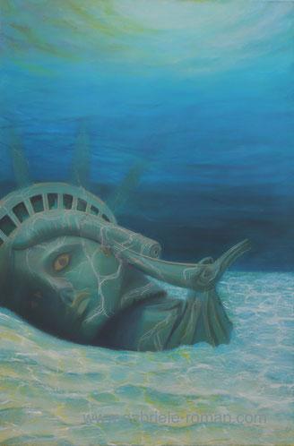 The New World, 2012, Acrylic on canvas, 80 x 120 cm