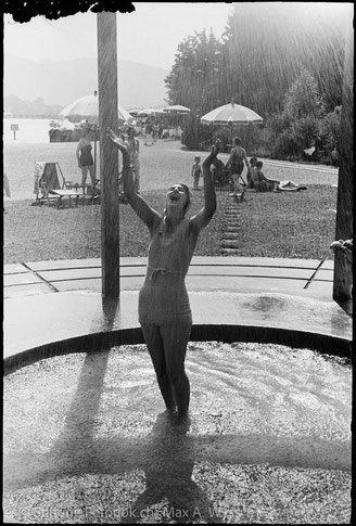 Lido 1938  Foto Max A. Wyss, Quelle Stiftung Fotodok