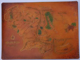 Carte de la Terre du Milieu A3