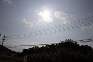 【画像】あるてぃー前の空