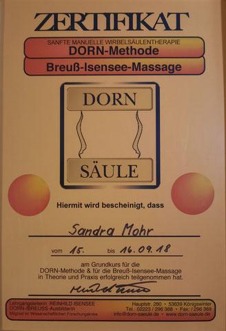 Breuß Massage, Dorn Methode, Entspannung, Rücken, Energie, Flügeltherapie