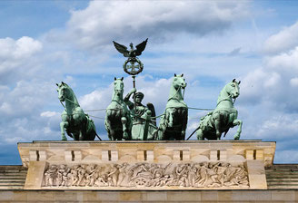 Quadriga at Brandenburg Gate