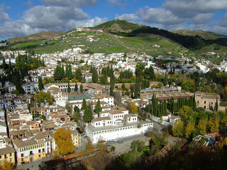 Panorama of the City Granada