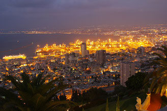 Haifa at Night