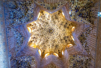 Ceiling in the Alhambra