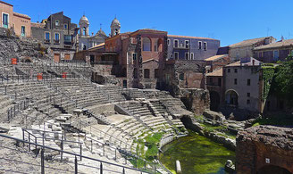 Ancient Roman Theatre Catania
