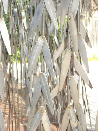 Holocaust Memorial Weeping Willow Budapest