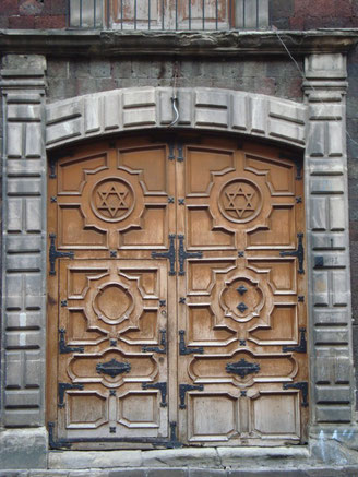 Synagogue Doors Mexico