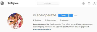 Ensemble Oper@Tee - INSTAGRAM