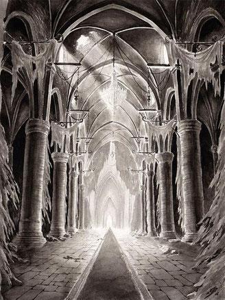 Les ruines de Lunéville