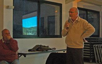 Jean Bacci maire de Moissac Bellevue au débat de Salernes