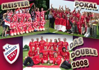 Kreismeister und Pokalsieger 2008