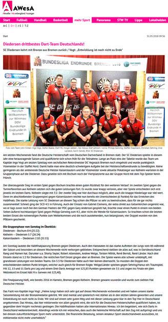 SC Diedersen - Darts