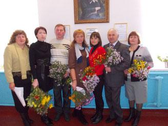 Педагогічний колектив Новогригорівської школи