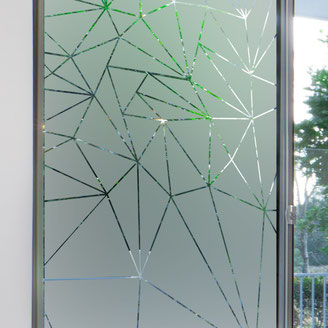 photo vitrage brise vue - aménagement cabinet médical