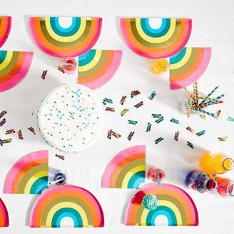 deco anniversaire garçon theme multicolore- boy party decoration