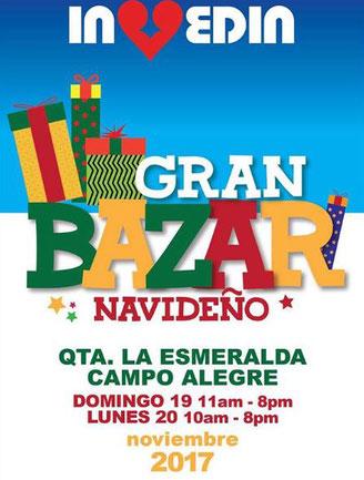 Gran Bazar Navideño Invedin 2017