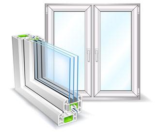 Kunststofffenster und Alufenster von Fair Fenster Bremen