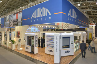 Firma ALUKON - vertreten auf vielen namhaften Messen